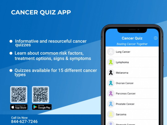 Cancer Quiz Mobile App