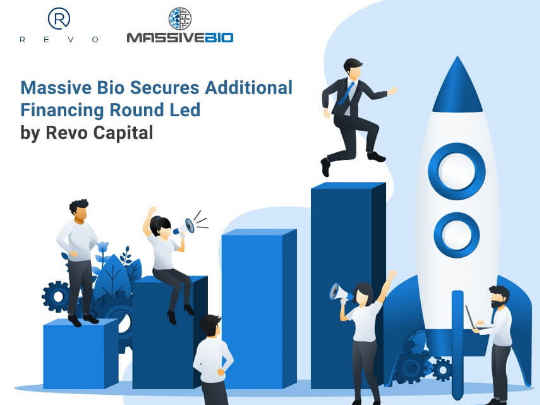 Massive Bio Secures Additional $2.6 Million Financing Round Led by Revo Capital and Tops its Total Raise to $6.6 Million