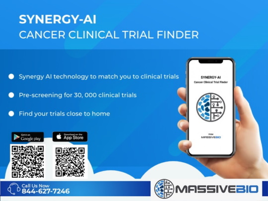 Cancer Clinical Trial Finder Mobile App