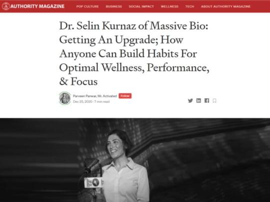 Selin Kurnaz Shares Upbringing and Startup Success with Authority Magazine
