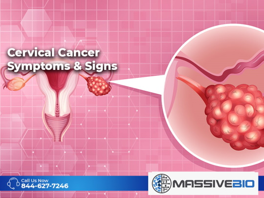 Cervical Cancer Symptoms and Signs