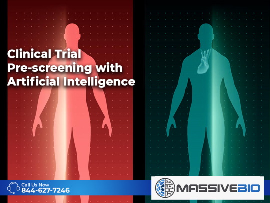 Clinical Trial Pre-screening with Artificial Intelligence