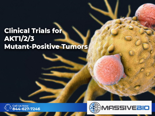 Clinical Trials for AKT1/2/3 Mutant-Positive Tumors