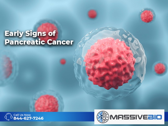 Early Signs of Pancreatic Cancer
