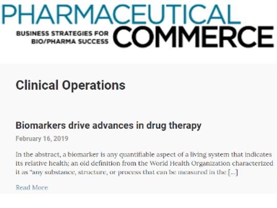 Biomarkers Drive Advances In Drug Therapy - Massive Bio