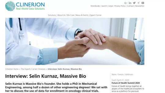 Clinerion Interview with Selin Kurnaz