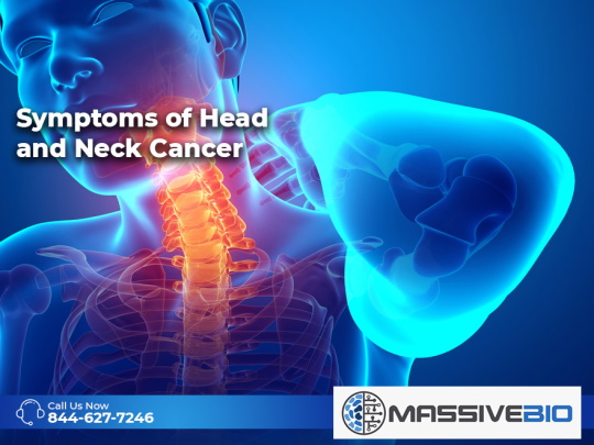 Symptoms of Head and Neck Cancer