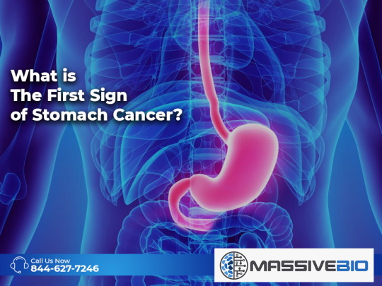What is The First Sign of Stomach Cancer?